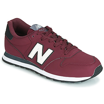 Schuhe Sneaker Low New Balance 500 Bordeaux
