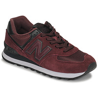 Schuhe Damen Sneaker Low New Balance 574 Bordeaux