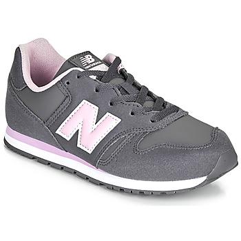 Schuhe Mädchen Sneaker Low New Balance 373 Grau / Rose