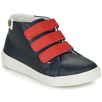 Schuhe Mädchen Sneaker Low Faguo ASPENLOW LEATHER Blau