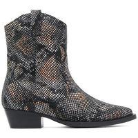 Schuhe Damen Low Boots Bronx  Schwarz