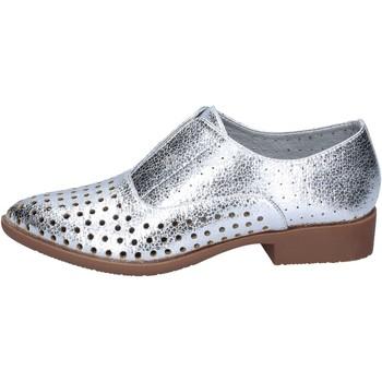 Schuhe Damen Derby-Schuhe & Richelieu Francescomilano elegante silber synthetisches leder BS73 silber
