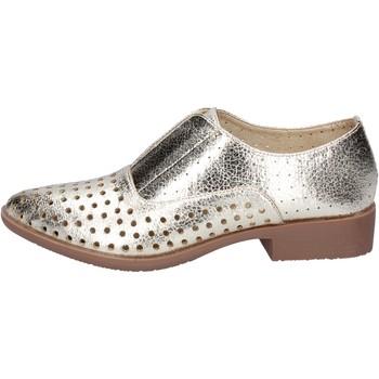 Schuhe Damen Derby-Schuhe & Richelieu Francescomilano elegante platin synthetisches leder BS74 PLATIN