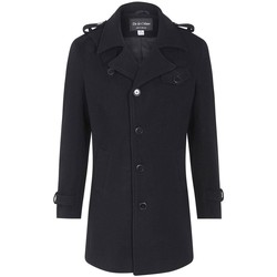 Kleidung Herren Mäntel De La Creme Wollmix im Military-Style-Wintermantel 99.99