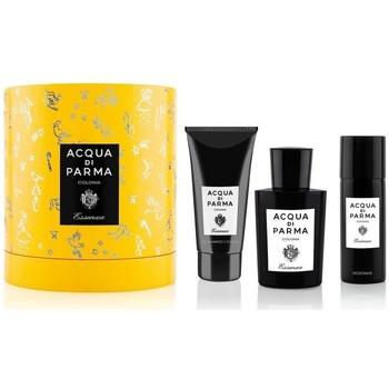 Beauty Herren Parfümsets Acqua Di Parma set essenza - 100ml +75ml sg+75ml after shave - verdampfer set essenza - 100ml +75ml sg+75ml after shave - spray