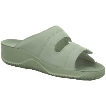 Schuhe Damen Pantoletten / Clogs Beck Pantoletten NV 7012/01 weiß
