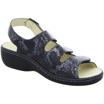 Schuhe Damen Sandalen / Sandaletten Longo Sandaletten Sandaletten 3069596-1 schwarz