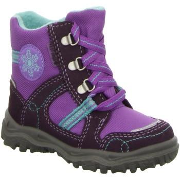 Schuhe Mädchen Babyschuhe Superfit Maedchen Goretexschnürstiefel WF 043-67 lila