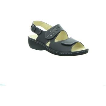 Schuhe Damen Sandalen / Sandaletten Longo Sandaletten Sandalette 39217-001 schwarz