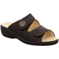 Schuhe Damen Pantoffel Longo Pantoletten 1005322 schwarz