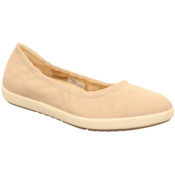Schuhe Damen Ballerinas Legero Slipper MALEO,POWDER 2-00830-56 56 beige