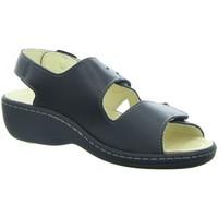 Schuhe Damen Sandalen / Sandaletten Longo Sandaletten 1006418 schwarz