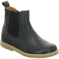 Schuhe Mädchen Boots Froddo Stiefel G3160080 blau
