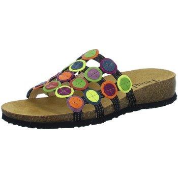 Schuhe Damen Pantoffel Think Pantoletten Julia Pantolette 84337-03 bunt