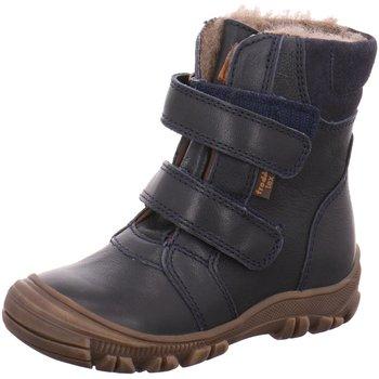 Schuhe Mädchen Schneestiefel Froddo Klettstiefel G3110092 blau