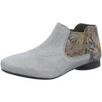 Schuhe Damen Ankle Boots Think Stiefeletten 4-84275-44 grau
