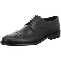 Schuhe Herren Derby-Schuhe Shoot Business shm-no089 black schwarz