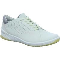 Schuhe Damen Sneaker Low Ecco Schnuerschuhe Schnürhalbschuh Casual BIOM LIFE 880313 01007 weiß