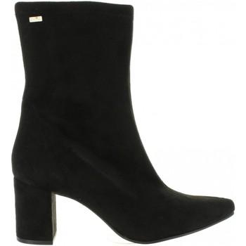 Schuhe Damen Klassische Stiefel MTNG 57701 Negro