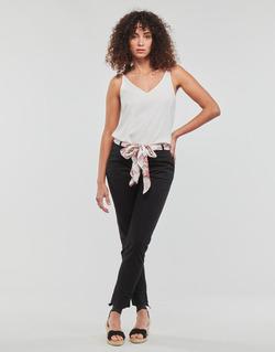 Kleidung Damen 5-Pocket-Hosen Casual Attitude JIYOO Schwarz