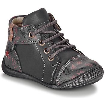 Schuhe Mädchen Boots GBB OLSA Grau / Rose