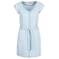 Kleidung Damen Kurze Kleider Yurban kOULIENNE Blau