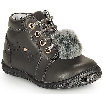 Schuhe Mädchen Boots Catimini CALISTA Grau