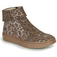 Schuhe Mädchen Boots Catimini CAMOMILLE Braun