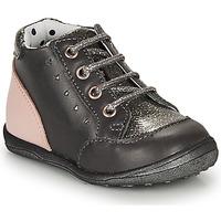 Schuhe Mädchen Boots Catimini CLELIA Grau / Rose