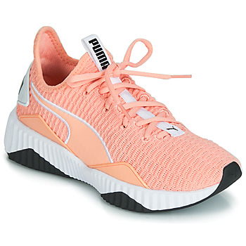 Schuhe Damen Sneaker Low Puma WNS DEFY.PEACH Orange