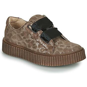 Schuhe Mädchen Sneaker Low Catimini CAVANILLE Braun