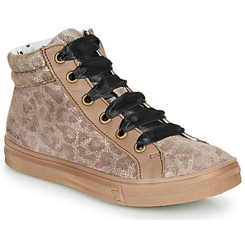Schuhe Mädchen Sneaker High Catimini CALENDULE Leopard
