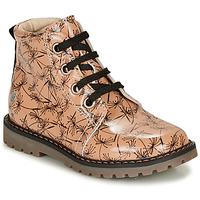 Schuhe Mädchen Boots GBB NAREA Rose / Schwarz