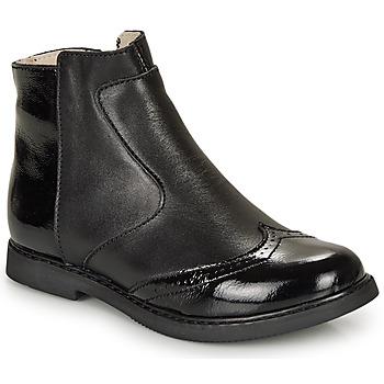 Schuhe Mädchen Boots GBB OURIETTE Schwarz