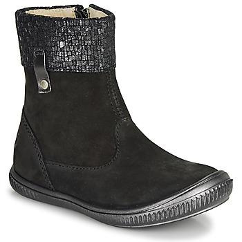 Schuhe Mädchen Boots GBB ORANTO Schwarz