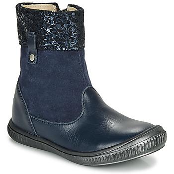Schuhe Mädchen Boots GBB ORANTO Marine