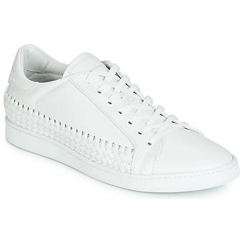 Schuhe Herren Sneaker Low John Galliano 6712 Weiss