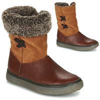 Schuhe Mädchen Boots GBB OLINETTE Braun