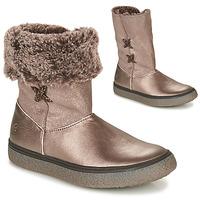 Schuhe Mädchen Boots GBB OLINETTE Gold