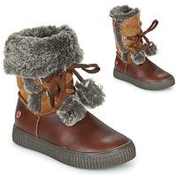 Schuhe Mädchen Boots GBB NOUSTIK Braun