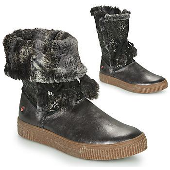 Schuhe Mädchen Klassische Stiefel GBB NOUSTIK Schwarz