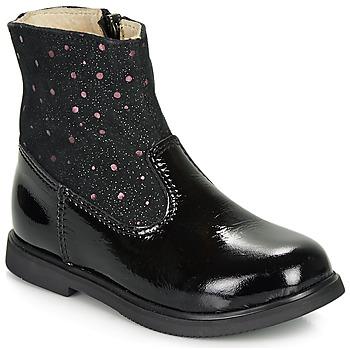 Schuhe Mädchen Boots GBB OSHINO Schwarz
