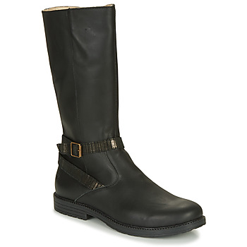 Schuhe Mädchen Klassische Stiefel GBB OKINDI Schwarz