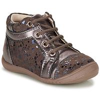 Schuhe Mädchen Boots GBB OMANE Beige