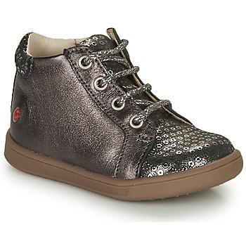 Schuhe Mädchen Sneaker High GBB FAMIA Grau / Silbern