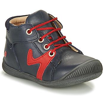 Schuhe Jungen Boots GBB OVELO Marine / Rot