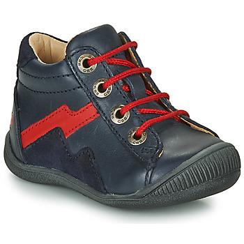 Schuhe Jungen Boots GBB ORAM Marine / Rot