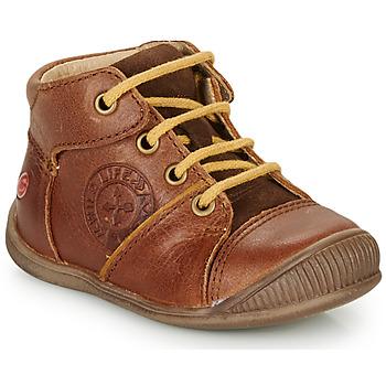 Schuhe Jungen Boots GBB OULOU Braun / Cognac
