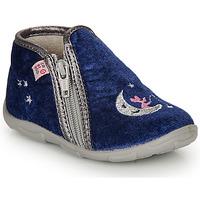Schuhe Mädchen Hausschuhe GBB OLILE Blau
