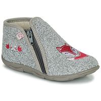 Schuhe Mädchen Hausschuhe GBB OLILE Grau